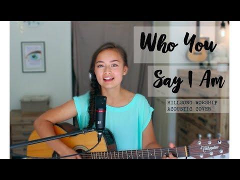 Who You Say I Am - Hillsong Worship Acoustic (cover) // Tamara Emma