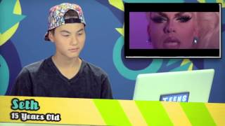 TEENS REACT TO ALEXIS MICHELLES CLAT VERSE