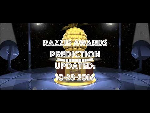 Razzie 2017 Predictions (10-28-2016)