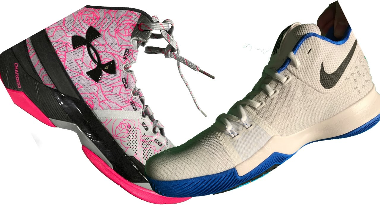 938c893c75ed Kyrie Irving 3 vs Stephen Curry 2 NBA Basketball Shoes - YouTube