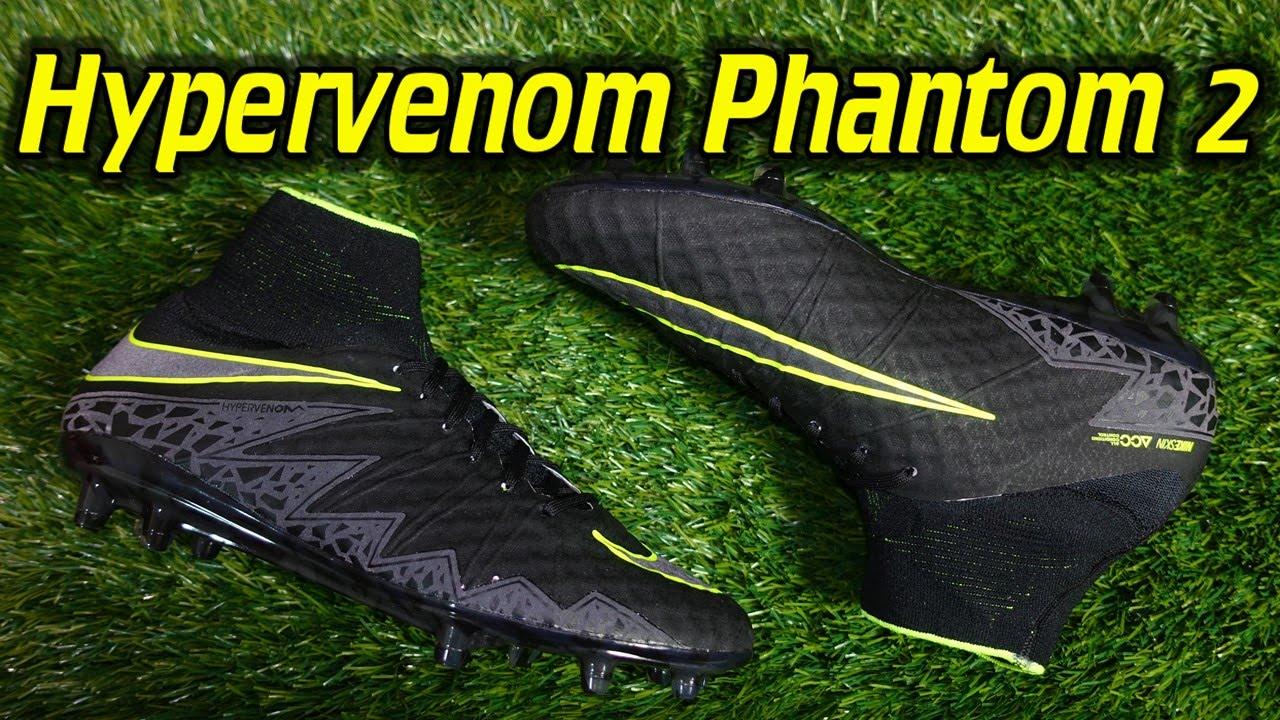 wholesale dealer d0e75 be669 Nike Hypervenom Phantom 2 (Pitch Dark Pack) - Review + On Fe