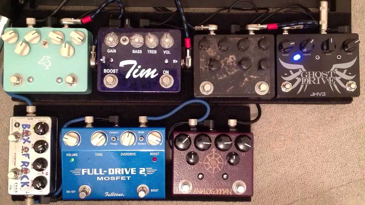 big overdrive shootout 2n1 dual overdrive pedal youtube