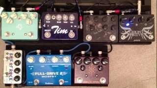 Big Overdrive Shootout 2n1 & Dual Overdrive pedal