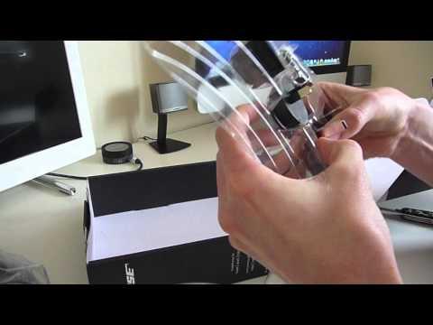 Bose QuietComfort 3 Noise Cancelling Headphones Unboxing