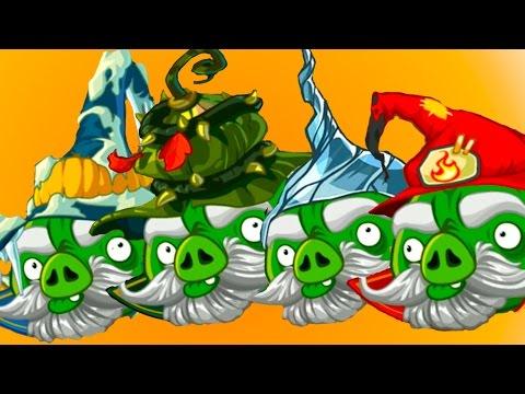 Веселая ИГРА БИТВА ГОЛОВОЛОМКА Angry Birds Epic ЗЛЫЕ ПТИЧКИ ЭПИК #33 Плохие свинки #КРУТИЛКИНЫ
