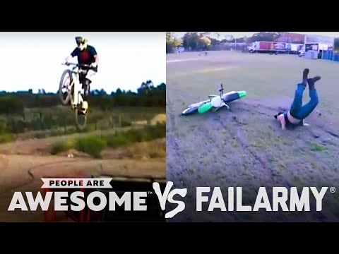 BMX, Rope Swings, Knives & More   People Are Awesome Vs. FailArmy