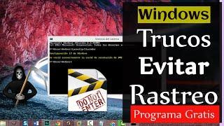 7 Trucos para usar PC sin dejar rastro -  Borrado seguro y privacidad en Windows