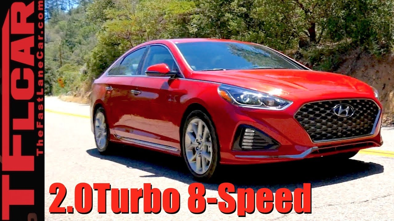 2018 Hyundai Sonata Turbo Top 5 Surprising Features