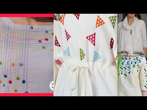 #hand-embroidery-dresses,most-#trendy-stylish-embroidery-ideas-on-white..