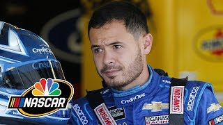 Did Kyle Larson make a mistake racing through a rib injury at Kansas? | Motorsports on NBC