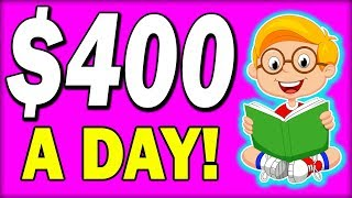 Earn $150-$400+ in ONE DAY JUST Reading?!! (Make Money Online)