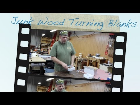 Casting Worthless Wood Pen Blanks In Alumilite Resin