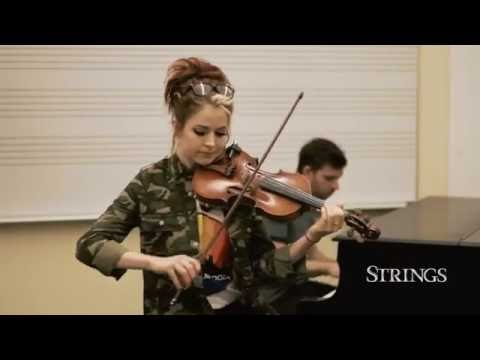 Lindsey Stirling  - The Arena / Acoustic Performance For Strings Magazine /