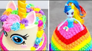 FUN & CREATIVE Cake Decorating Ideas   Colorful Cake Decorating Compilation by Cakes StepbyStep