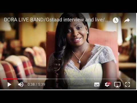 DORA LIVE BAND/Gstaad interview and live/polo.mov