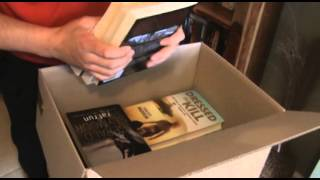 How to pack books for moving house - a packing to move house video guide