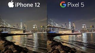 iPhone 12 vs Pixel 5 | Camera Test
