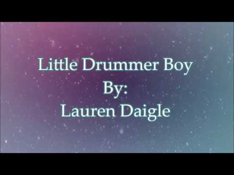 Lauren Daigle Little Drummer Boy (Lyric Video)