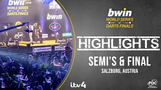 Semi's & The Final - Highlights - 2020 bwin World Series of Darts Finals