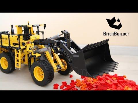lego-technic-42030-volvo-l350f-wheel-loader---speed-build-for-collecrors