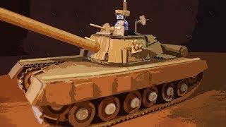 як зробити танк відео з картону