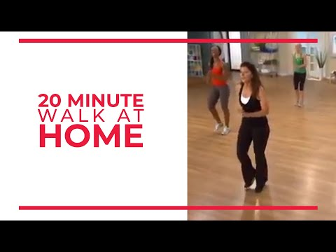 20 Minute Walk at Home Exercise  Fitness s