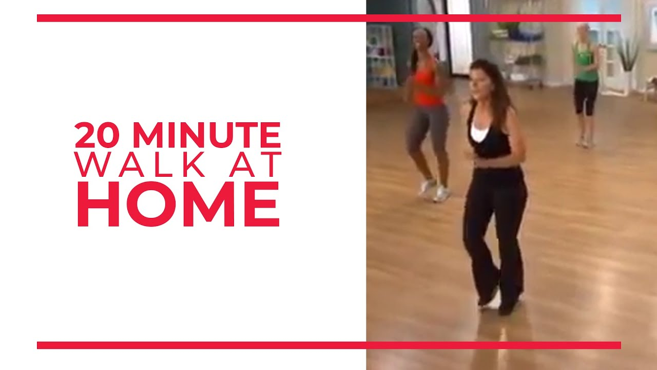 20 Minute Walk at Home Exercise | Fitness Videos