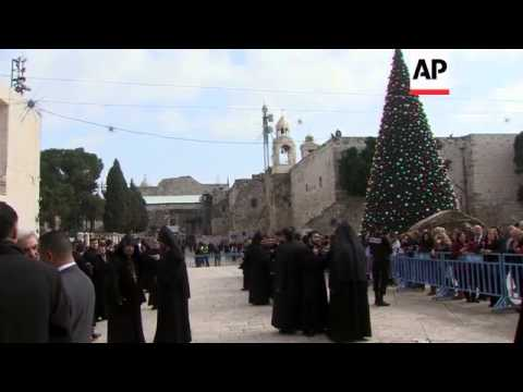 Armenians in Holy Land celebrate Christmas