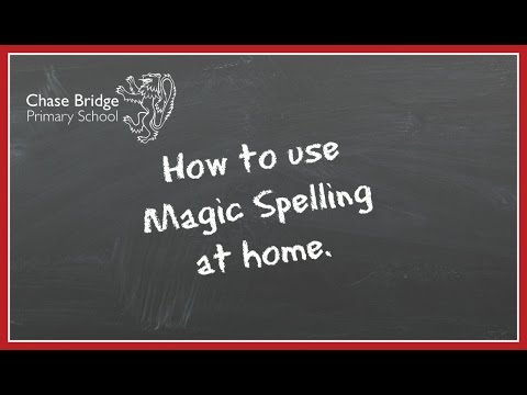 How to use Magic Spelling at home