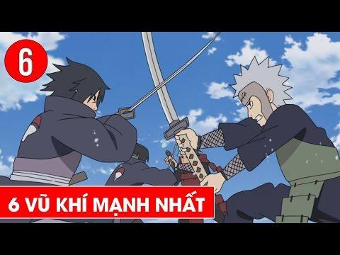Top 6 thanh kiếm mạnh nhất trong Naruto - Shounen Action