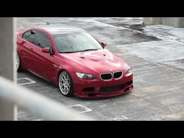 BMW M3 E92 on 20