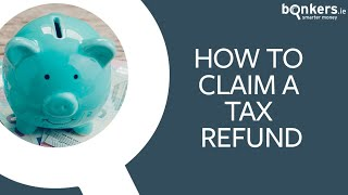 How to claim a tax refund