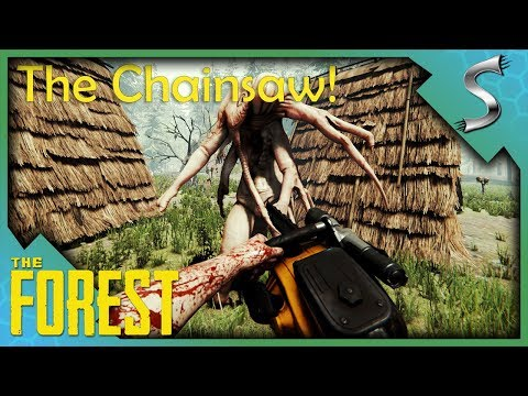 WE FOUND A CHAINSAW? BEST LOOT CAVE IN THE GAME! - The Forest [Gameplay E5]