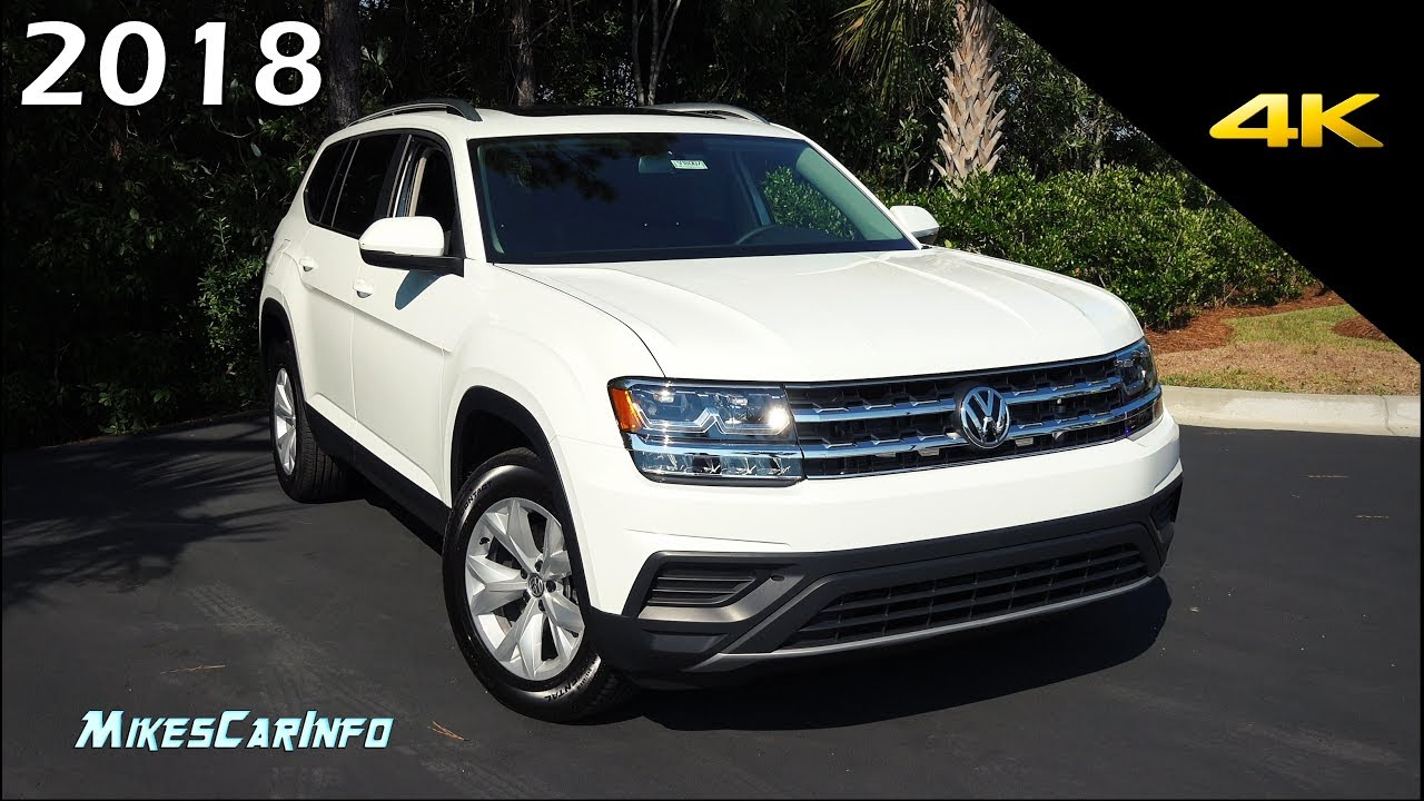 2018 Volkswagen Atlas Launch Edition Detailed Look In 4k