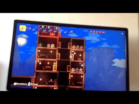Terraria hotel tour (hotel not finished yet) + mining