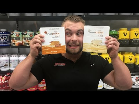 PowerCrunch Bars By BNRG - Gourmet Protein Bar Review By Genesis.com.au