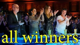 All Winners America's Got Talent ALL TIME Update