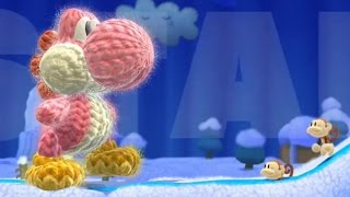 Yoshi's Woolly World - All Transformations Gameplay