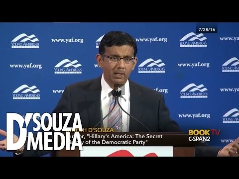 C-SPAN: D'Souza Exposes The Racist Political Strategy Of Democrats