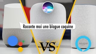 Battle d'Assistants Vocaux (Google Assistant VS Alexa VS Siri)