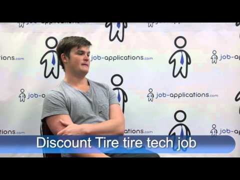 Discount Tire Interview -  Tire Tech