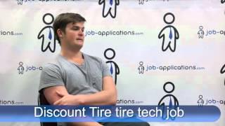 Discount Tire Interview -  Tire Tech