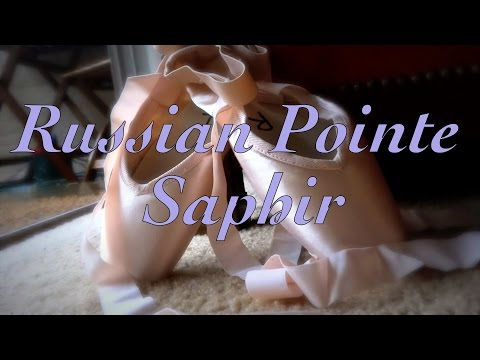 New Russian Pointe Shoes - Breaking in My Saphirs & What Padding I Wear