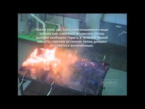ANSUL UL300 требования к проведению огневых испытаний по тушению противней