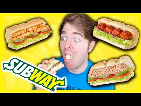 TASTING SUBWAY FOODS