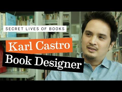 Karl Castro, Book Designer