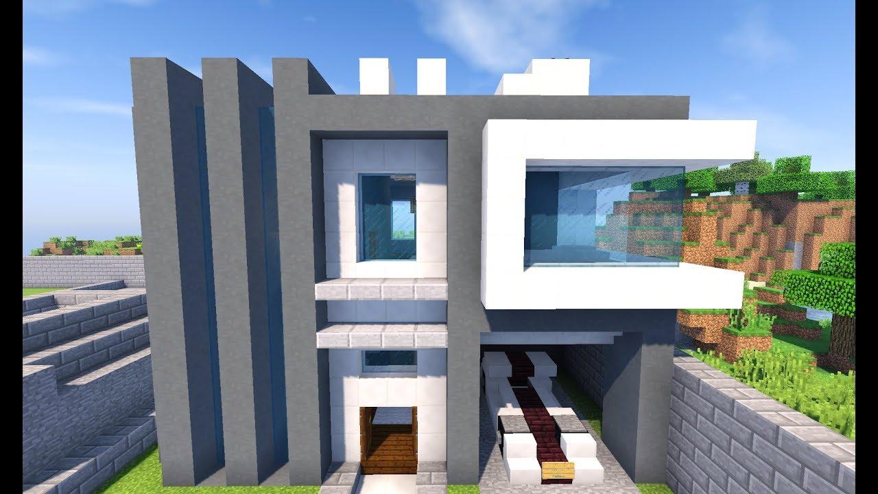 как построить модерн дома в майнкрафте 1.7.2 видео #4