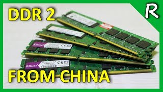 Память DDR 2 на старую материнскую плату LGA775. ТЕСТ [© Игорь Шурар 2017]