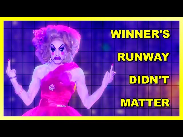 10 times on Drag Race when a Queen Missed the Runway's Theme and Still Won