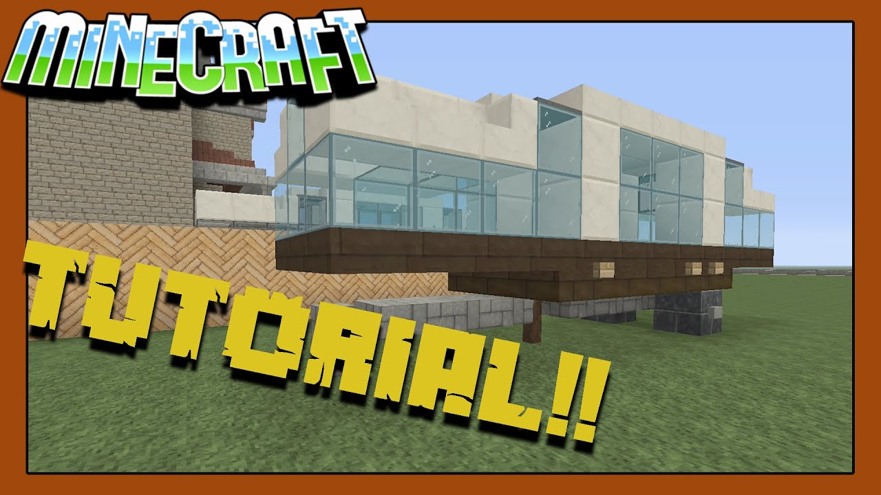 how to make a campervan in minecraft